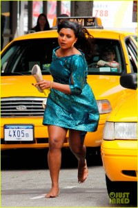 Mindy Kaling is on the Run [USA ONLY]